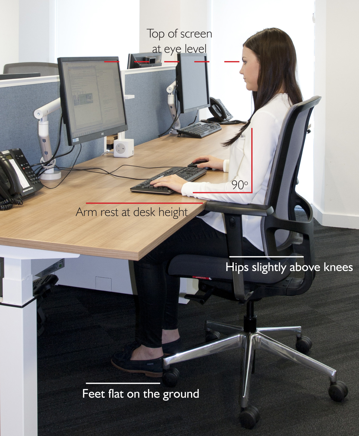 6 Tips for sitting at your computer – LSE Treatment Clinic